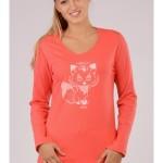 Dámské pyžamo Malá liška 4391 – Vienetta