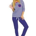 Dámské pyžamo Malaga blue