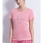 Dámské pyžamo Méďa na houpačce 0976 – Vienetta