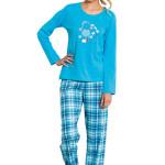 Dámské pyžamo Nela modré