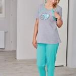 Dámské pyžamo Regina 661 kr/r M-XL K