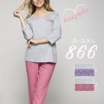 Dámské pyžamo Regina 866 3/4 2XL