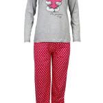 Dámské pyžamo se srdíčkem LAPH8034 – Cocoon