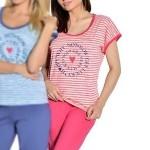 Dámské pyžamo Simona růžové