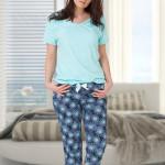 Dámské pyžamo ++SIZE GALA – M-MAX