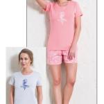 Dámské pyžamo šortky Mořský koník
