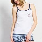 Dámské pyžamo šortky na ramínka Summer – Vienetta