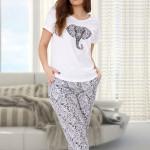 Dámské pyžamo STELLA 524 – M-MAX