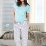 Dámské pyžamo TAMIRA 653 – M-MAX