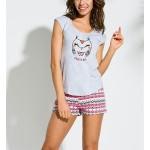 Dámské pyžamo Taro Eva 2157 b/r S-XL '18
