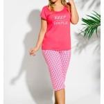 Dámské pyžamo Taro Paula 2194 kr/r 2XL-3XL '18