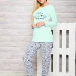 Dámské pyžamo Taro Renata 885 S-XL dl/r