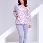 Dámské pyžamo Wera 1043 XXL