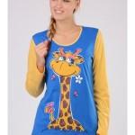 Dámské pyžamo Žirafa 3258 – Vienetta