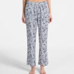 Dámské pyžamové kalhoty QS6028E-EFZ modrobílá – Calvin Klein