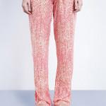 Dámské pyžamové kalhoty S1614E- růžové – Calvin Klein