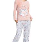 Dámské soft pyžamo Mona s tučňákem