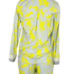 Dámský pyžamový kabátek Button Down QS6068E – Calvin Klein