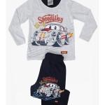 Dětské pyžamo dlouhé Auto Grand Prix