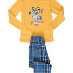Dětské pyžamo dlouhé Hokejista