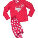 Dětské pyžamo dlouhé Méďa na saních