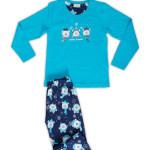 Dětské pyžamo dlouhé Méďové se šálou
