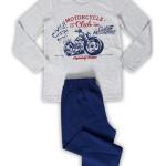 Dětské pyžamo dlouhé Motocykl