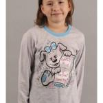 Dětské pyžamo dlouhé Pes a deník