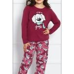 Dětské pyžamo dlouhé Pes se šálou