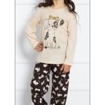 Dětské pyžamo dlouhé Štěně
