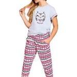 Dívčí bavlněné pyžamo Beky sovička