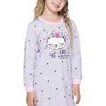 Dívčí košilka Malina šedá