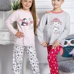 Dívčí pyžamo 1167 pink