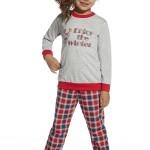 Dívčí pyžamo 592/69 Winter young melange