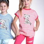 Dívčí pyžamo Amelie bílý tygřík