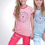Dívčí pyžamo Amelie Lucky růžové