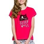 Dívčí pyžamo Kira červené