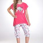 Dívčí pyžamo Medvídek růžové