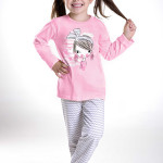 Dívčí pyžamo Mia růžové