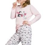 Dívčí  pyžamo Oda růžové