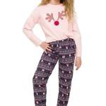Dívčí pyžamo Sofinka lososové sob