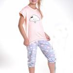 Dívčí pyžamo Tola meruňkové