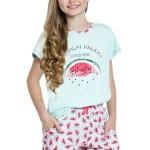 Dívčí pyžamo Vanessa tyrkysové