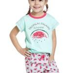 Dívčí  pyžamo Vanessa zelené