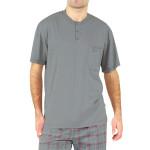 Krátké pánské pyžamo Harry šedé