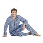 Pánské nadrozměrné pyžamo Kuba Flanela 6XL-7XL