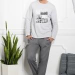 Pánské pyžamo 1006 Karol grey