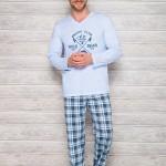 Pánské pyžamo 2130 blue