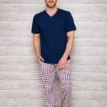 Pánské pyžamo 2131 dark blue