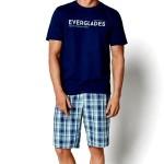 Pánské pyžamo 35006 blue